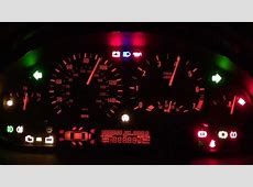 BMW E46 Dash Light Up Trick Shows ALL Warning Lights