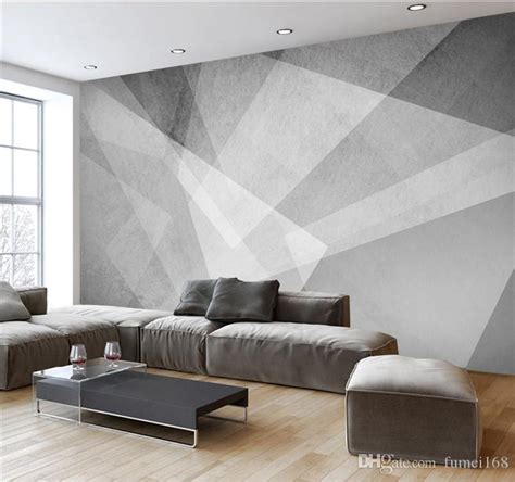 novelty geometric designs abstract wallpapers mural