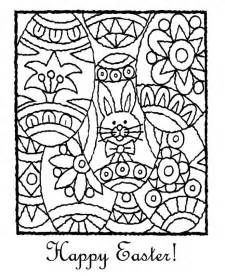 Adult Easter Coloring Pages Printable
