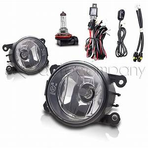 2005-2015 Ford Mustang Fog Lights Front Driving Lamps W  Wiring Kit