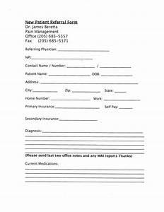 referral document template - patient information dr beretta