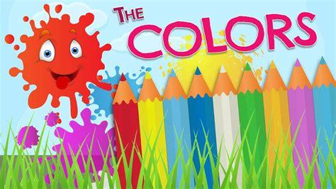 The Color by Los Colores En Ingl 233 S Para Ni 241 Os Vocabulario En Espa 241 Ol