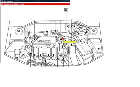 Renault Clio 1 4 Wiring Diagram by Air Intake How To Access The Idle Air Valve