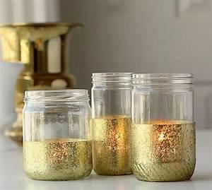 Pot En Verre Deco : 4 id es pour recycler des pots de yaourt en verre ~ Melissatoandfro.com Idées de Décoration