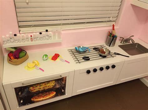 une cuisine de professionnel pour enfant bidouilles ikea