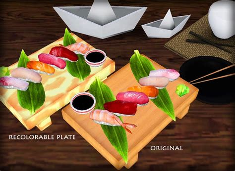 cuisine sims 3 my sims 3 exnem 39 s food sushi by black sweety