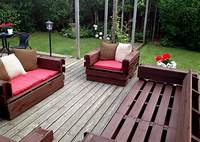 deck furniture ideas Modern DIY Patio Furniture Ideas