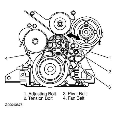 Suzuki Aerio 2 0 Engine Diagram by 2002 Suzuki Aerio Serpentine Belt Routing And Timing Belt