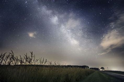 Amazing Photograph The Milky Way Captured Over