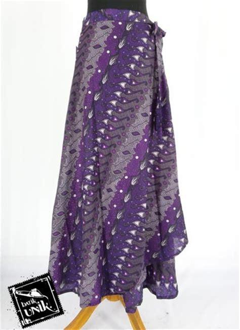 rok batik lilit panjang motif parang pancing bawahan