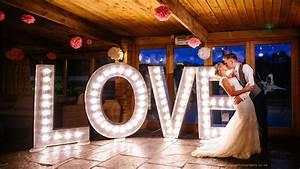 illuminated letter hire wedding letter hire With large love letters for wedding