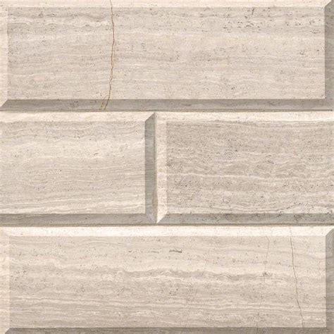 subway tile white oak marble subway tile 4x12 honed beveled