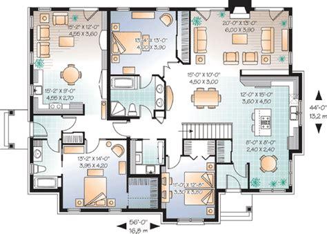 law suite house plan dr architectural designs house plans