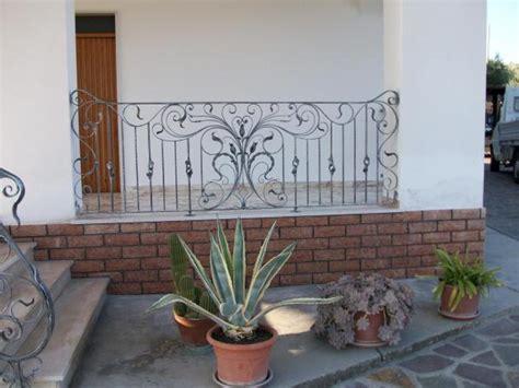 ringhiera in ferro battuto per esterno casa immobiliare accessori ringhiere in ferro per esterno