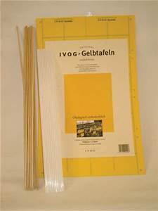 Gelbe Tafeln Schädlinge : biofa ivog insektenfangtafeln ~ Lizthompson.info Haus und Dekorationen