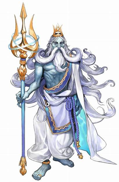Poseidon Greek Zeus Transparent Icarus Mythology Kid