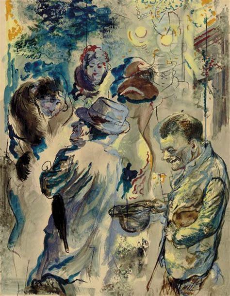 George Grosz (1893-1959) , Bettler Strassenszene, Berlin ...