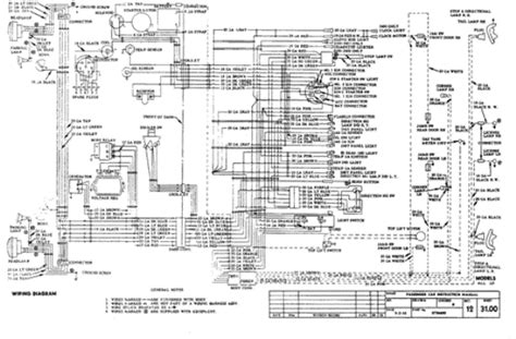 chevrolet wiring diagrams  classic chevrolet