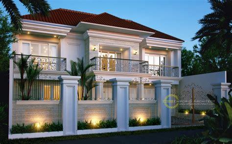 desain rumah  balkon jasa arsitek