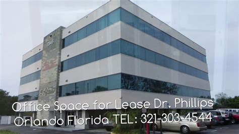 Office Space Orlando by Office Space For Lease Dr Phillips Orlando Florida