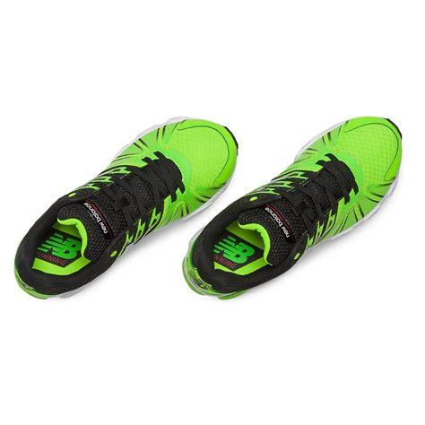 balance  boys running shoes lime greenblack tennisnutscom
