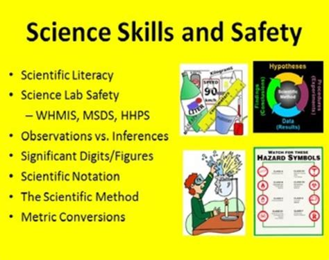 Scientific Method, Skills And Safety Powerpoint Lessons & Student Notes Bundle By Teachwithfergy