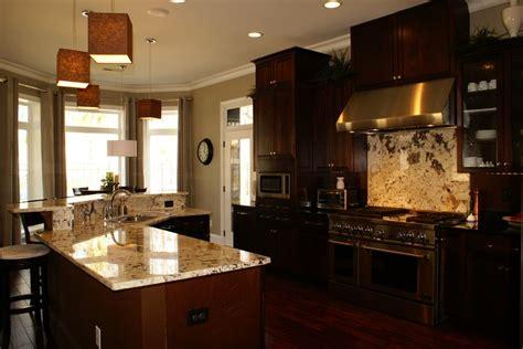 dark cabinets light granite dark kitchen cabinets with light granite quicua com