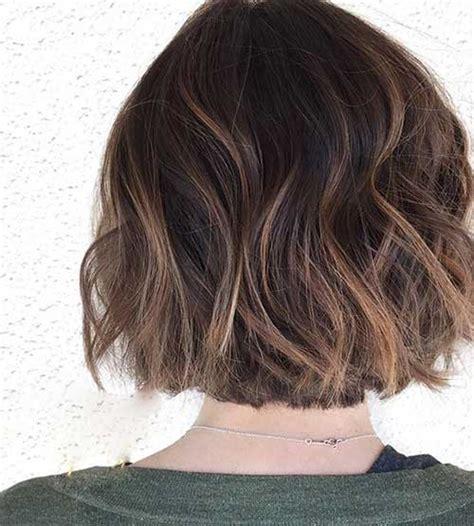 balayage bob hair bob hairstyles  short