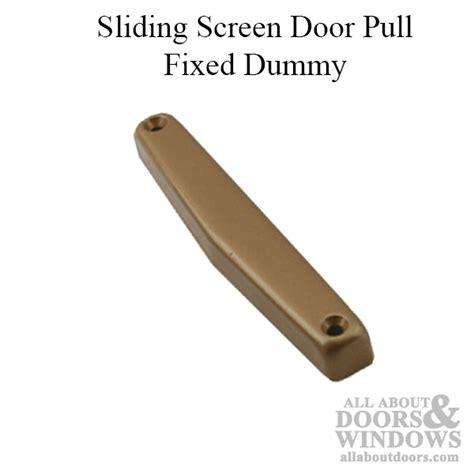 sliding screen door pull fixed dummy choose color