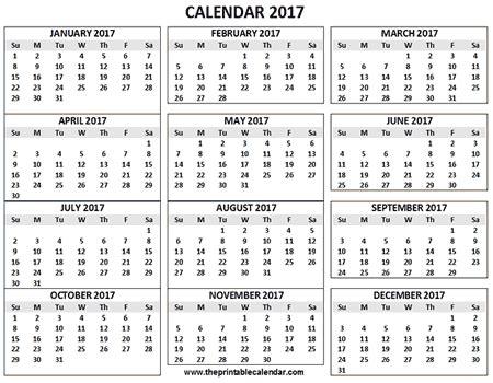 calendar printable  months calendar   page