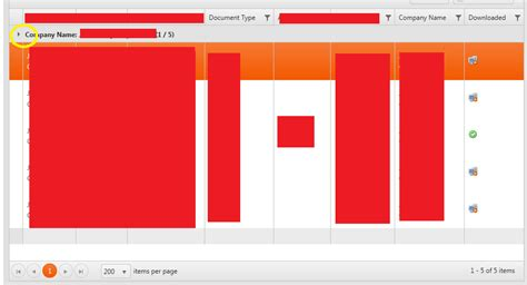 kendo grid column template kendo ui grid header not collapsed when using row template stack overflow