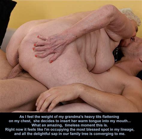 Mature Granny Or Mother Taboo Incest Captions Mom Grandma