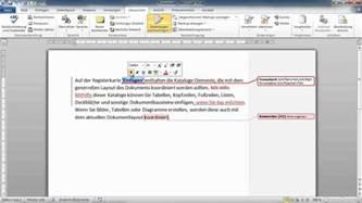 word  textkorrekturen vornehmen drucken annehmen