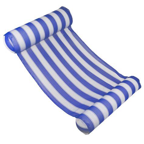 Poolmaster Water Hammock Lounge Blue