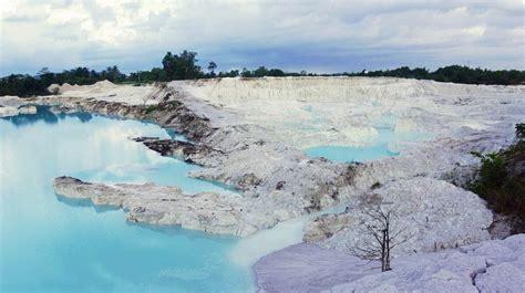 rute  lokasi danau kaolin belitung ketika luka alam
