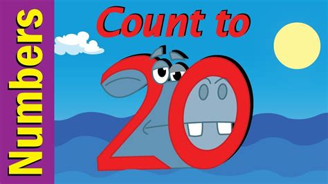 Counting Numbers 1 20 With Pictures