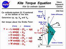 Kite Torque Equation