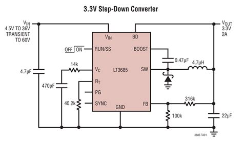 Step Down Converter Circuit Collection