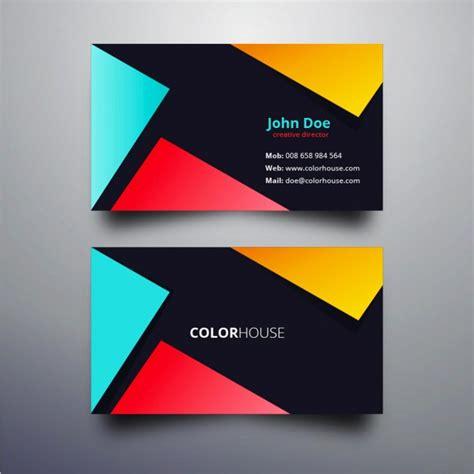 couleur design de carte de visite moderne t 233 l 233 charger des vecteurs gratuitement