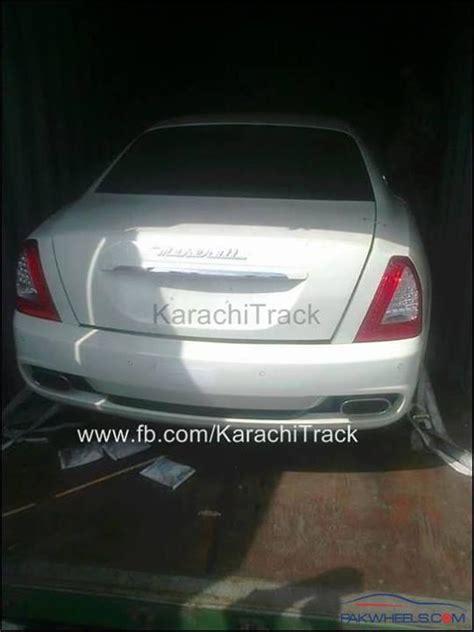 maserati pakistan rare sports luxury cars suvs in pakistan general car