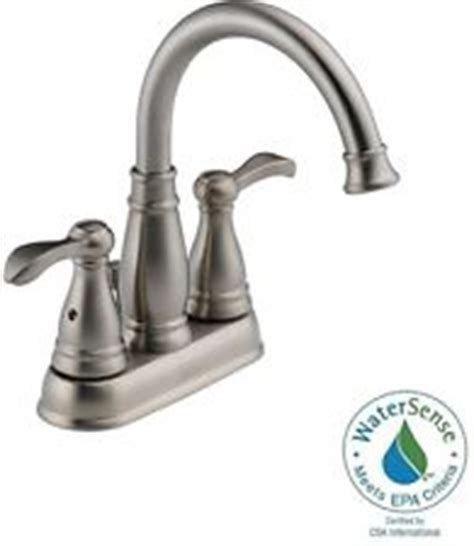 delta lorain faucet brushed nickel delta 35984lf bn brushed nickel porter bathroom faucet