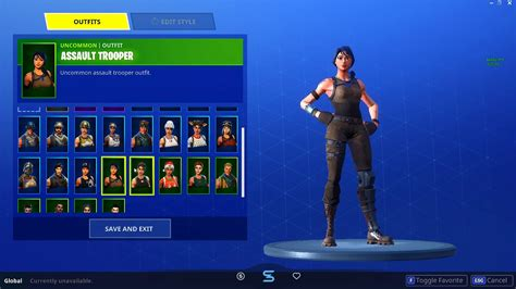 fortnite account rare skins    read description
