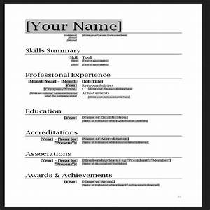 free resume templates word cyberuse With free resume samples in word format