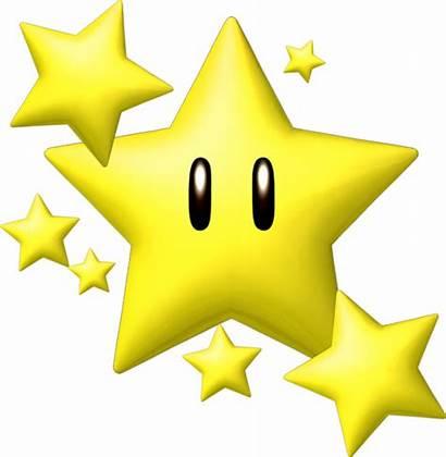 Mario Bros Yellow Clipart Stars Hq Estrellas