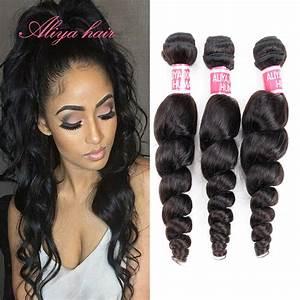 Brazilian Virgin Hair Loose Wave 3 Pcs Lot Best 6A ...