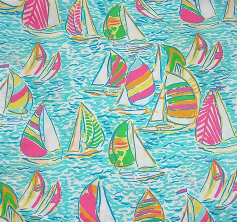 Lilly Pulitzer Boat by Lilly Pulitzer Sailboat Print Odds Ends