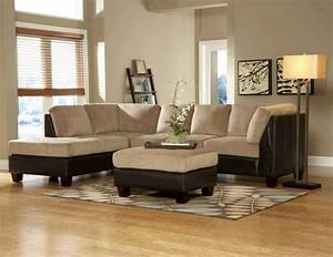 Brown leather sectional sofa feel the home for Decorating a sectional sofa