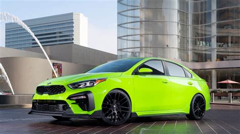kia forte gt 2020 auto shows 2020 kia forte gt debuts at sema with 201 hp