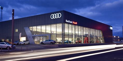 audi dealership exterior feb 4 2017 belfast audi dealership meet belfast