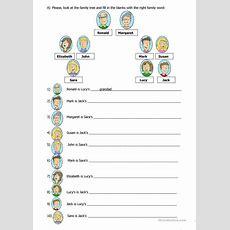 Family Tree Worksheet  Free Esl Printable Worksheets Made By Teachers